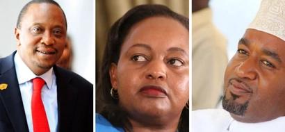 Soma barua ya SIRI kutoka ofisi ya Uhuru kuhusu Anne Waiguru na Gavana Joho