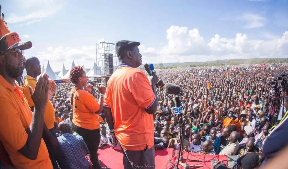 Hakuna mvutano katika CORD- Raila Odinga