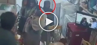 Suspicious family pretends to ask for help but ends up stealing from this store owner