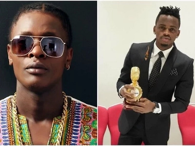 Kenyan musicians will die of envy after seeing Diamond's and Chameleone's SWANKY ,plush mansions (Photo)