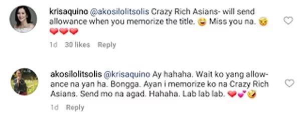 Kris Aquino wants Lolit Solis to memorize title of show