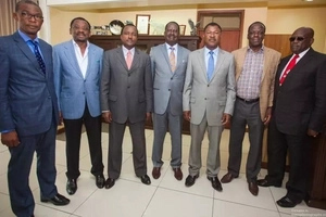 Top ODM Senator and MPs get a rude shock at a tycoon's funeral in Siaya