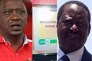 TV station releases poll that settles the dust on which party between Jubilee, NASA will win in Meru