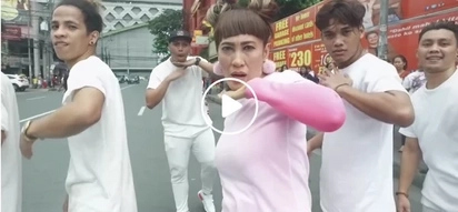 This video of Ai-ai Delas Alas dancing on the streets will give you life!