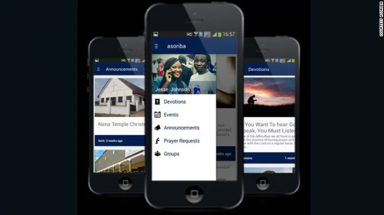 Ghanaian app that has made going to church easy