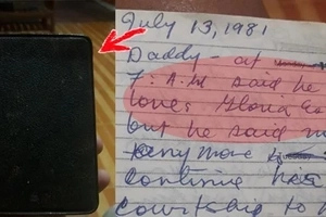 Son finds accounts of father's mistress in little diary written by his own deceased mother and it made him do this!