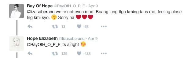 """Liza on calling Enrique her best friend retorts, """"is it a bad thing?"""""""