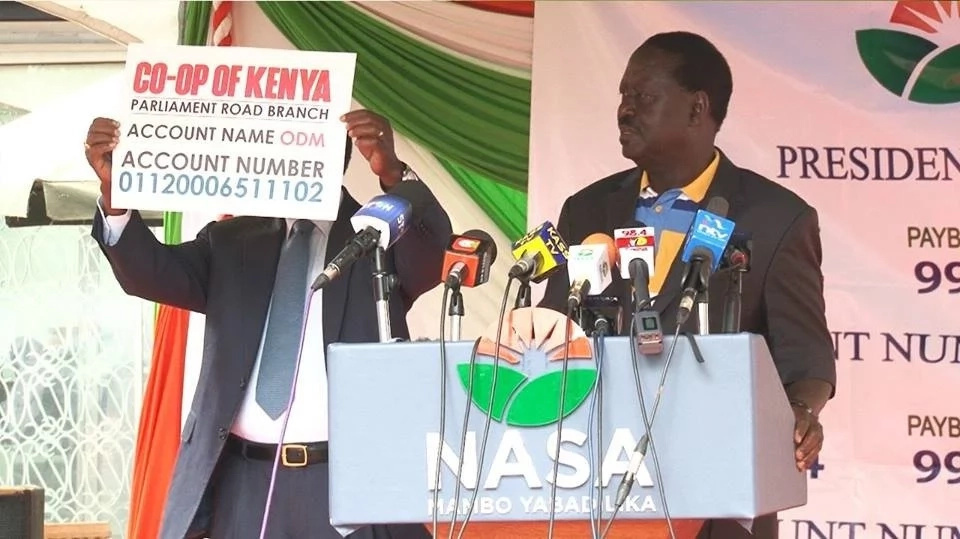 Here is what Kenyans think about Raila's funds drive from supporters