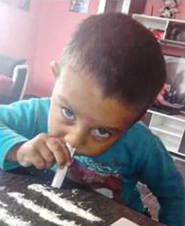 "Shocking Picture Of 3-Year-Old Boy ""Snorting Cocaine"" Sparks Fury"