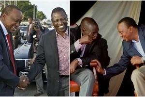 Uhuru declares his 'LOVE' for Ruto in Kiambu