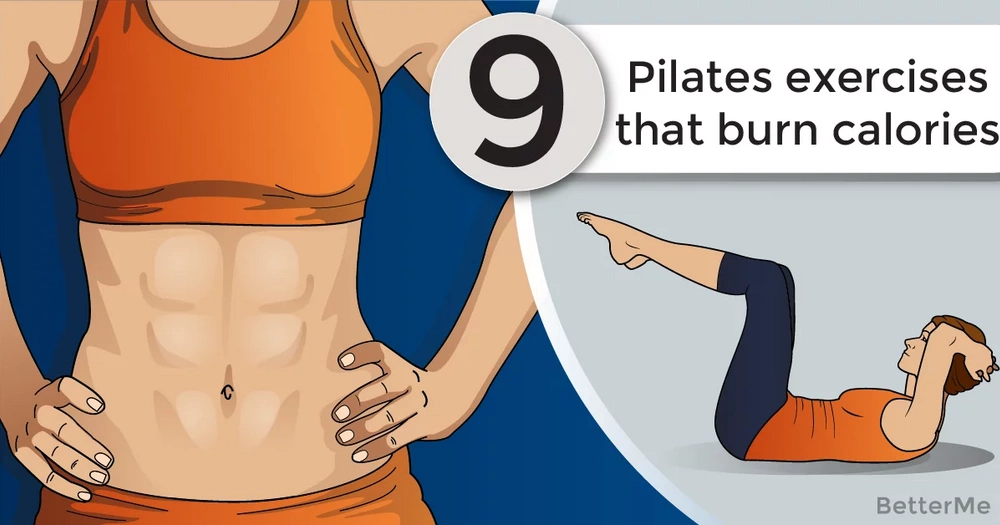9 Pilates exercises to get the heart pumping and burn calories