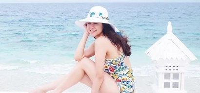 Marian Rivera looks FLAWLESS on her birthday bash at Balesin