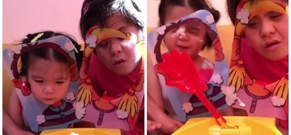 Watch Ara Mina's daughter and her sister play the pie face game! Who won the thrilling showdown?
