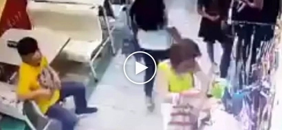 Huli ang magnanakaw! Dangerous Pinay thief caught on CCTV stealing items from shop in Alabang