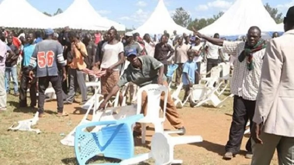 Funeral in Meru turns real ugly, MP's son escapes death by a whisker