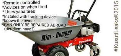 'It Knows The Owner': Hilarious Reactions To Bungoma's 109K Wheelbarrow