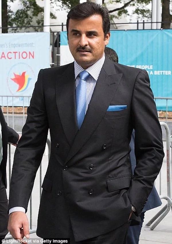 Sheikh Tamim bin Hamad Al-Thani, emir of Qatar. Photo: Getty Images/LightRocket