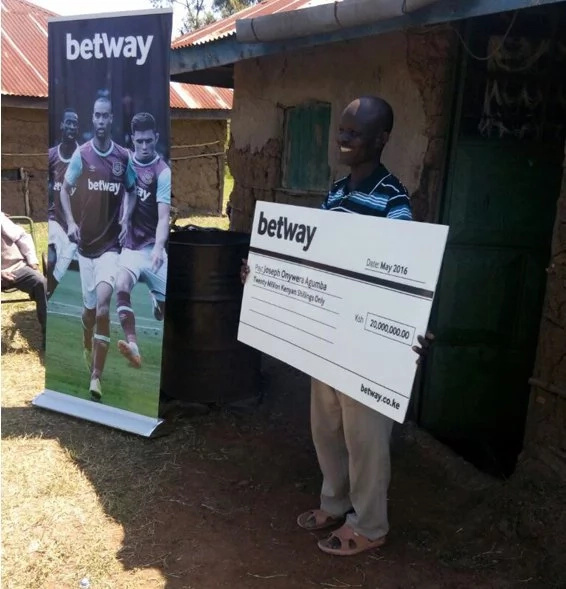 Betway jackpot winner strikes it big again with Sportpesa