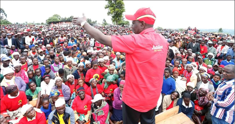 Raila has bewitched Isaac Ruto, says Deputy President