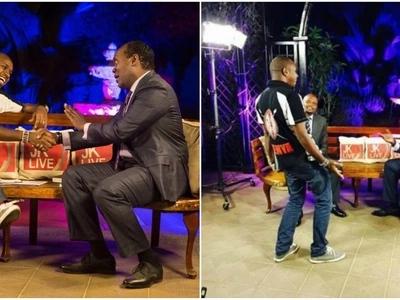 Hatimaye siasa zawakutanisha 'maadui' Jeff Koinange na Bonface Mwangi