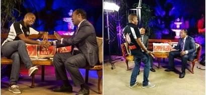 Jeff Koinange, Boniface Mwangi finally kiss and make up after Koinange's dirty lies