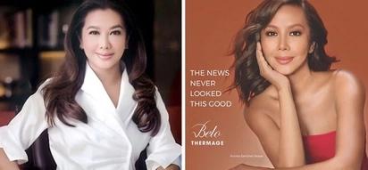 Keber daw siya sa mga bashers! Korina Sanchez doesn't allegedly mind if she's tagged as 'photoshopped' as she becomes new Belo Medical Group endorser
