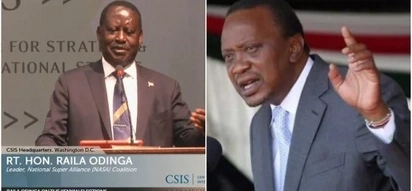Raila accuses Uhuru Kenyatta of denying him pension