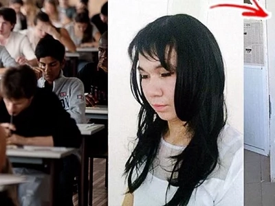 Boyfriend Wears Wig & Make-Up, Impersonates Girlfriend To Help Her Pass The Exam