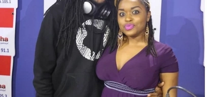 Radio presenter shows off son she got with J Blessing(photo)