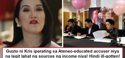 Kahit ano ibato 'wag lang tungkol sa pera! Furious Kris Aquino lambasts 'Ateneo-educated' commenter who accused her as 'magnanakaw'