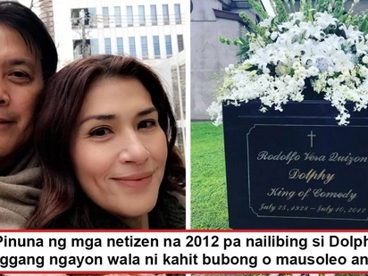Kinalimutan na ba ang Comedy King? Netizens hit Zsa Zsa Padilla for allegedly failing to build Dolphy a mausoleum 5 years after his death