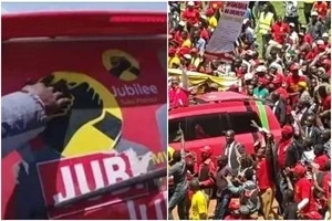 Drama, chaos as Jubilee aspirants FIGHT over nomination certificate