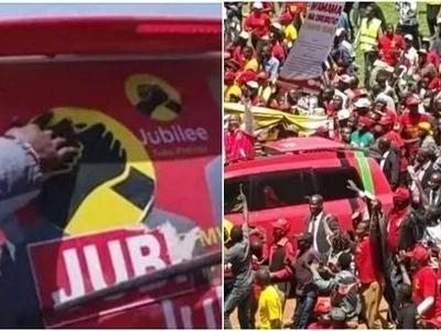 Naibu Rais Ruto na wanasiasa wa Jubilee wazomewa Lamu (video)