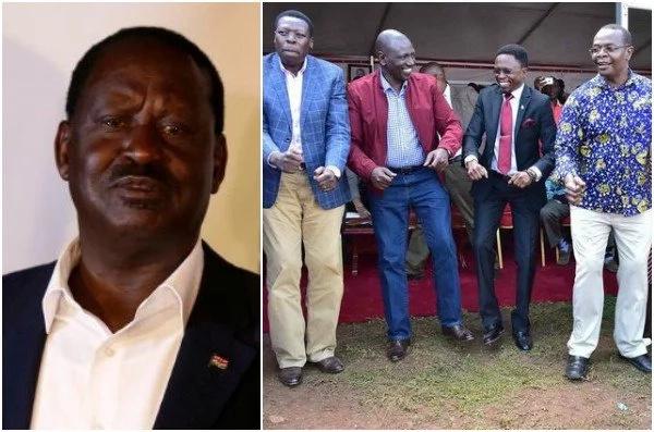 Raila amkejeli Otuoma bada ya kuhamia Jubileee