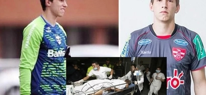 Portero se salvó del accidente aéreo pero le tuvieron que amputar una de sus piernas