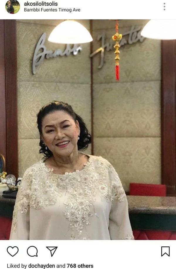 Kris Auino defends Lolit Solis