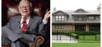Bilyonaryo na wais! Warren Buffett, fourth wealthiest person in the world, chooses to live in a modest house