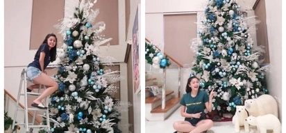Pang-Prinsesa ang lifestyle! Kim Chiu shares glimpses of her luxurious house while decorating her enormous Christmas tree
