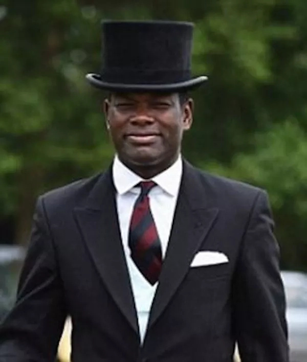 Major Nana Kofi Twumasi-Ankrah. Photo: Daily Mail