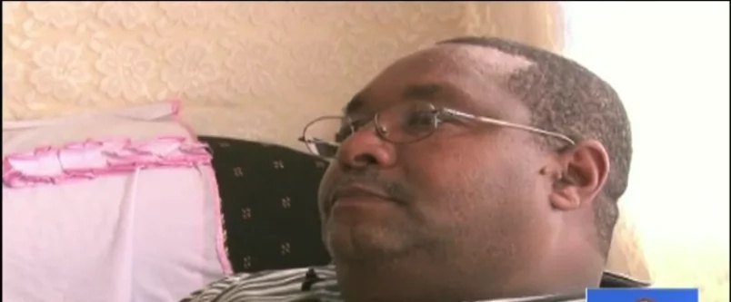 Kenyan man living in pain after his breasts start producing milk