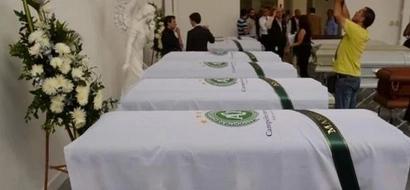 Video muestra el espiritu de los jugadores del Chapecoence en su funeral