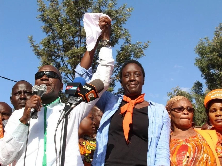 Raila gives an update on Rosemary's health days after she quit politics