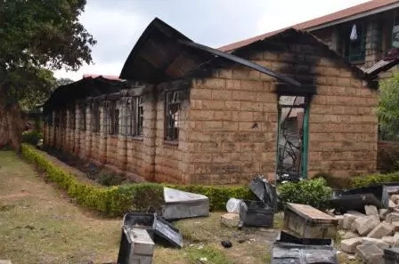 Students give two major reasons for school fires in Kenya