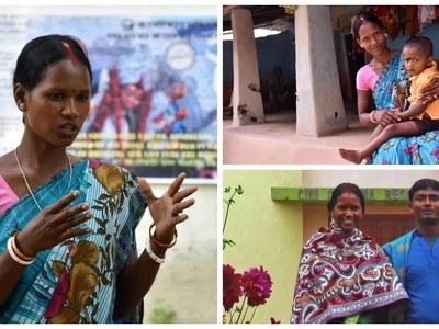 Woman, 20, uses her experience of being forced to MARRY aged 14 to speak out against early marriage (photos)