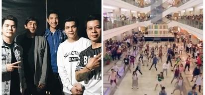 Nagulantang ang mga tao sa mall! Darren Espanto and UMD dancers lead epic flash mob of 'Dying Inside' in New Farmer's Plaza Cubao