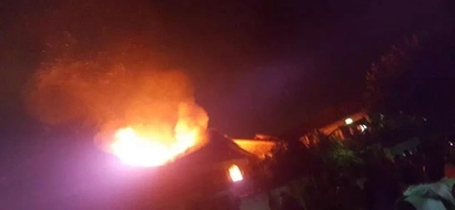 Breaking! Langata High, Ruiga Girls in Meru on fire (Photos, Video)