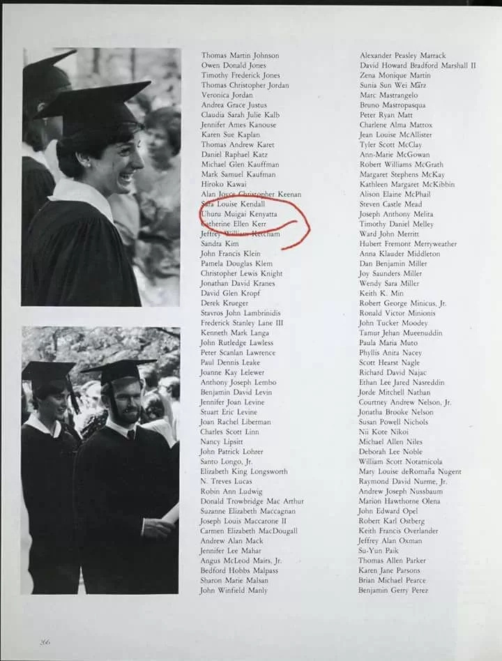 Uhuru college degree