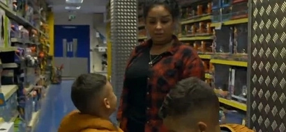 Single mother skips meals for weeks in order to buy designer shoes for her sons (photos)