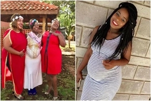 Photos of Mike Sonko's heavily pregnant daughter fill the internet and we know when she's due