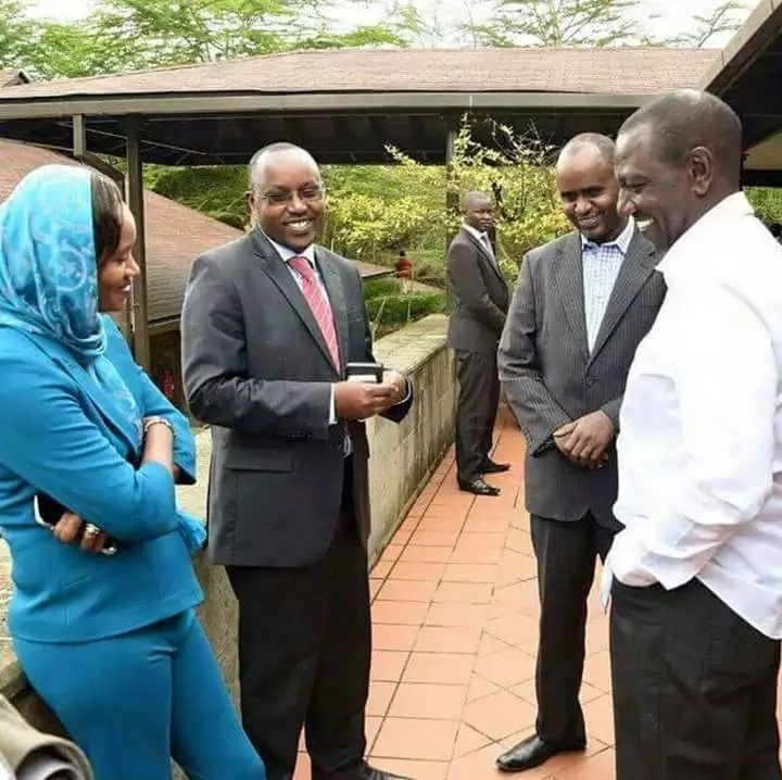 William Ruto's photo that has everyone making fun of him